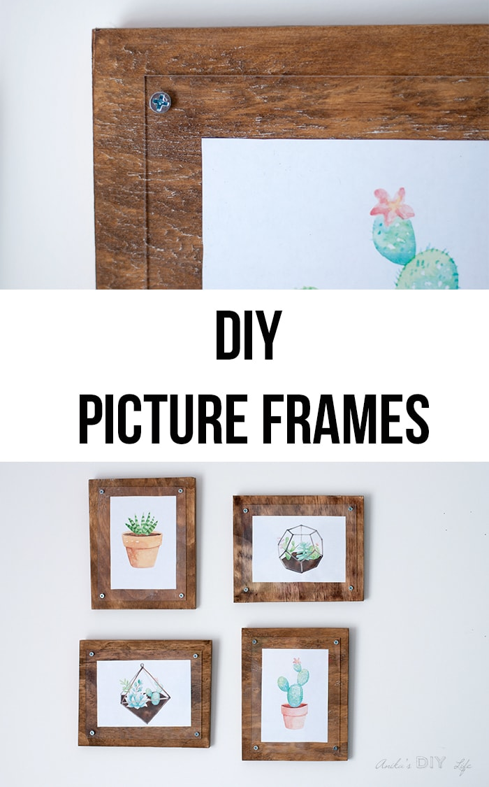 How To Make A Simple Photo Frame Anikas Diy Life