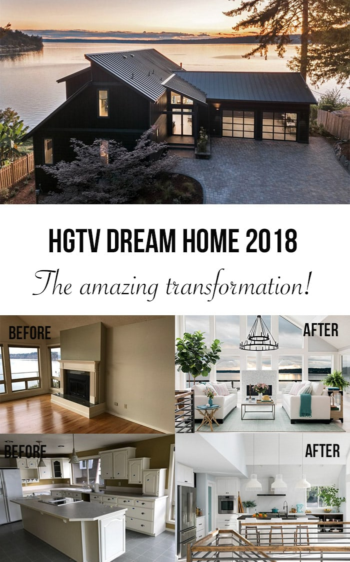 I am in love with the HGTV Dream Home 2018 transformation! #sponsored