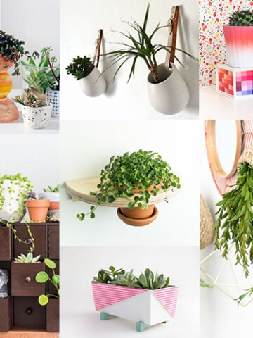 These 20 gorgeous and unique Ikea hacks for plants add chic greenery to any room! Inexpensive Ikea plant stand hacks are easy to recreate and decorate!