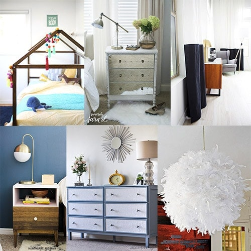 These Ikea hacks are perfect to add that element of personality to your bedroom. From bed hacks to small space storage hacks to lighting, these great Ikea hacks will give you tons of ideas to create your own sanctuary.