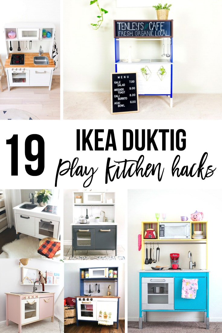 Collage of Ika Duktig makeover and hacks with text overlay