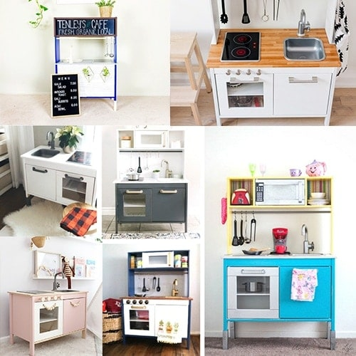 19 Fun Ikea Play Kitchen Hacks and Makeovers