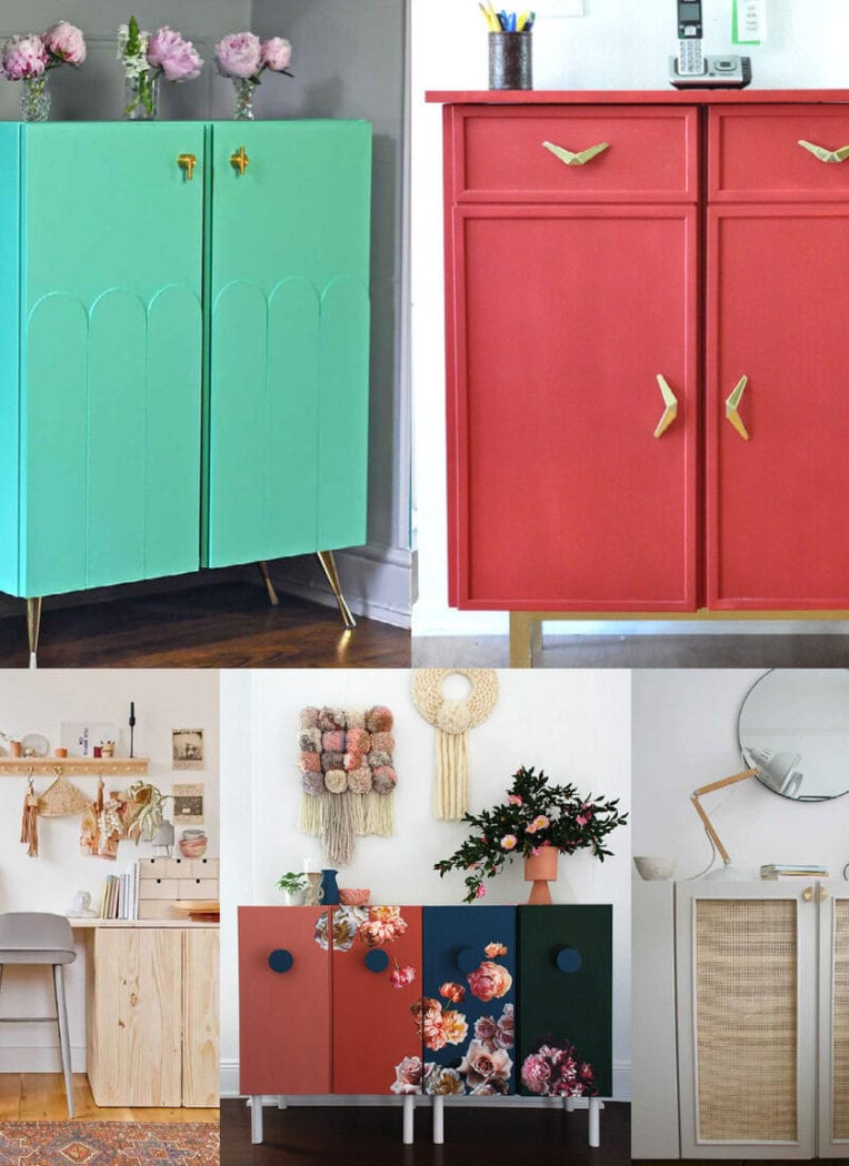 These incredible Ikea IVAR hacks turn the simple cabinet into a showstopping and functional addition to your home. Which will you try?