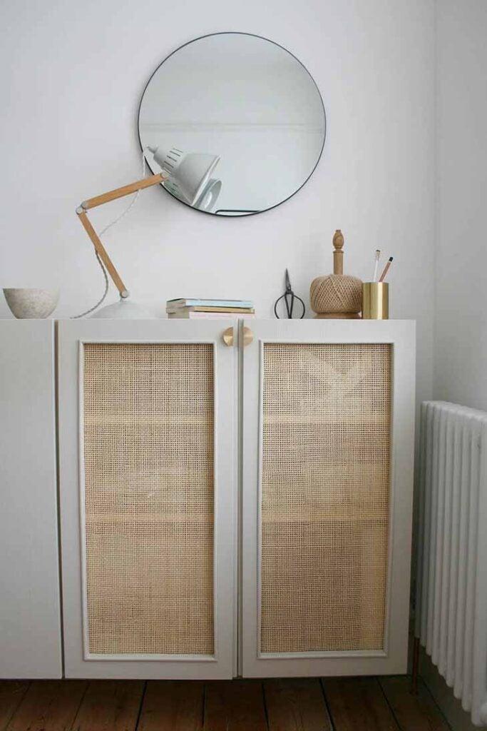 Ikea Ivar with can door panels