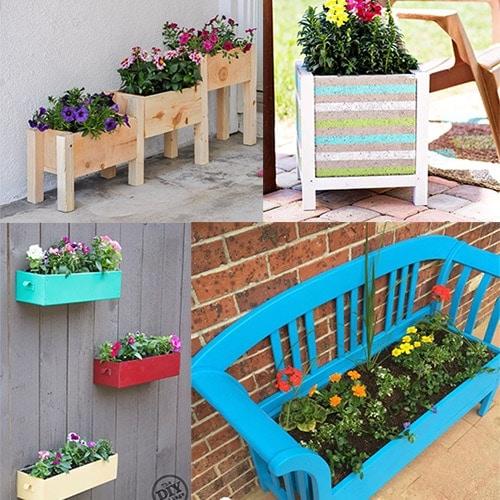 12 Easy DIY Flower Gardening Ideas for Spring!