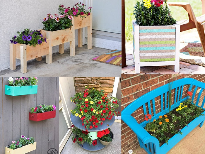 12 easy diy flower gardening ideas for spring anikas diy life collage of easy diy flower gardening ideas mightylinksfo