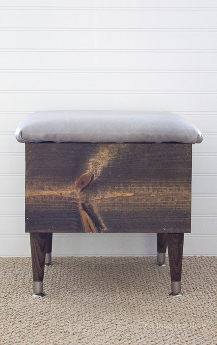 Awesome 20 Diy Storage Ottoman Ideas For Every Skill Or Budget Machost Co Dining Chair Design Ideas Machostcouk