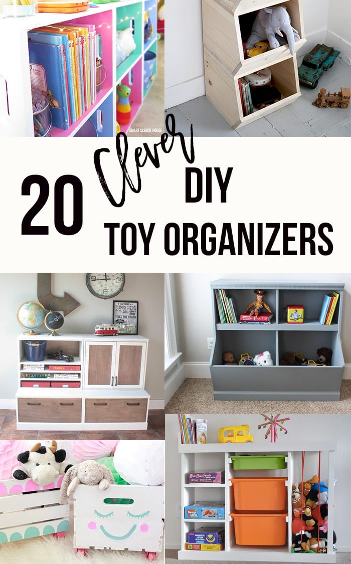 20 Genius Diy Toy Organizer Ideas Super Creative Toy