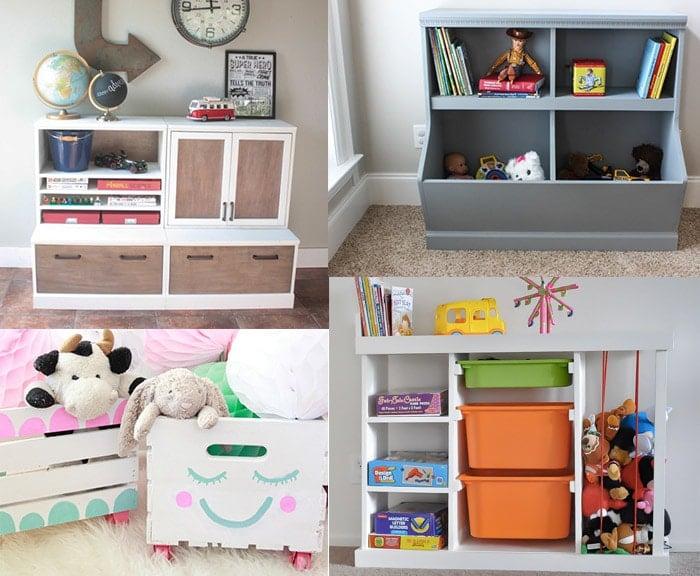20 genius diy toy organizer ideas super creative toy storage solutions rh anikasdiylife com Homemade Storage Ideas Best Playroom Ideas
