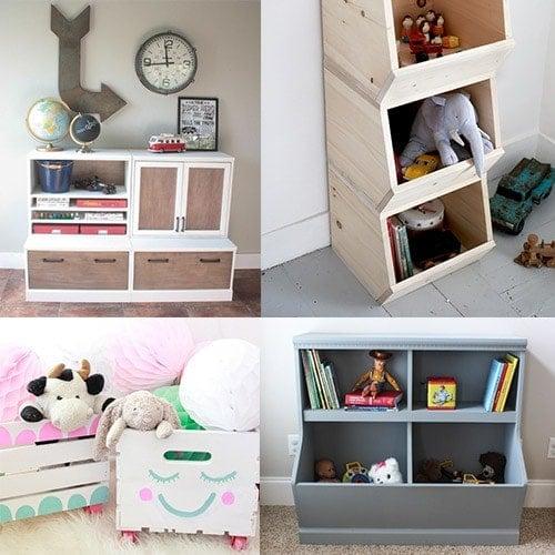 20 Genius DIY Toy Organizer Ideas - Super Creative Toy ...