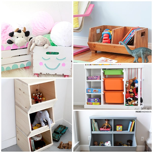 21 DIY Toy Storage Ideas