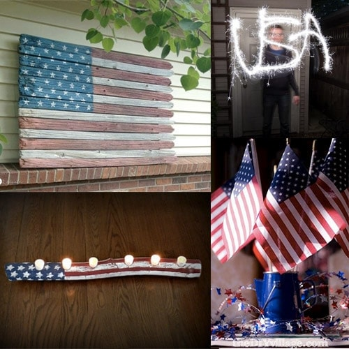 10 DIY 4th of July Decoration Ideas