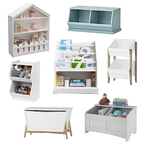 20 Toy Storage Solutions to Hide the Mess in Style