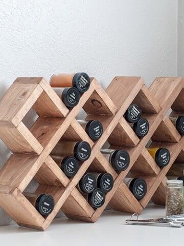 DIY Spice rack