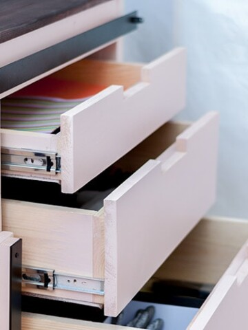 This is your complete guide on how to build a drawer. See all the tips and tricks you need to know to build perfect drawers every time - even for beginners!
