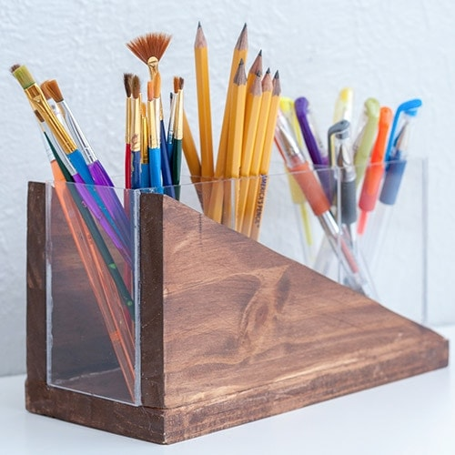 Easy DIY Modern Pencil Holder