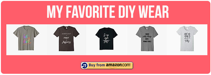 DIY related T-shirts on Amazon