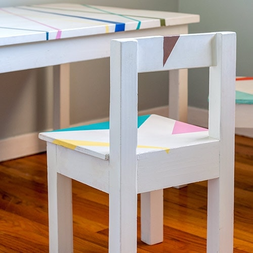 24 DIY Kids Table and Chair Ideas You Can Build!