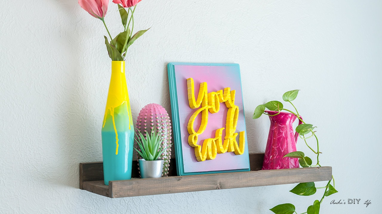 3 Cool Spray Paint Effects You Will Love Anika S Diy Life