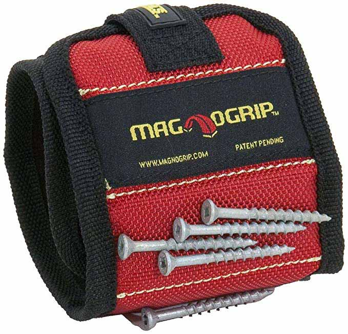 Magnetic wristband Clamps as gift ideas for woodworkers