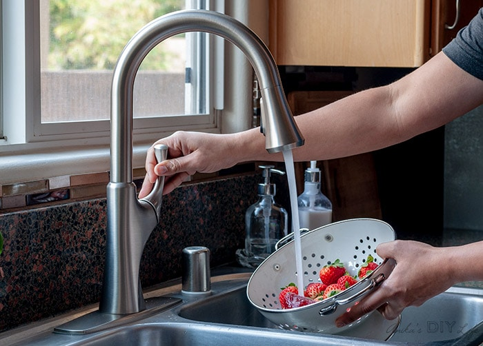 How To Replace A Kitchen Faucet For Newbies Anika S Diy Life