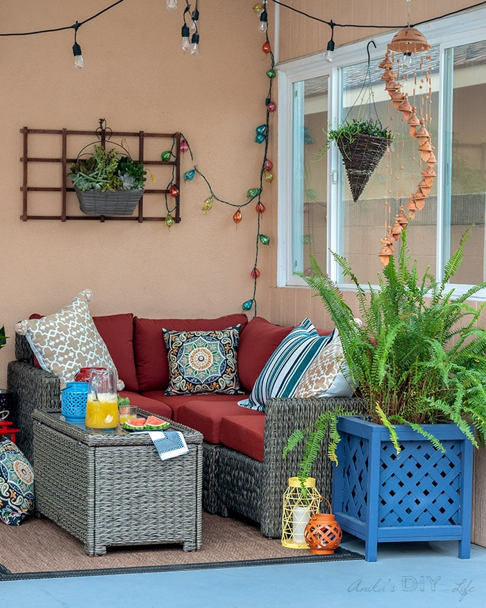 Small Patio Decorating Ideas A Cozy Comfortable Corner Anika S