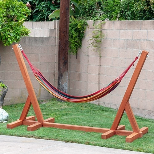 Easy DIY Hammock Stand Using 3 Tools
