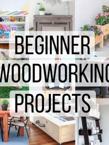 Here are 30 amazingly simple and easy beginner woodworking projects you can build today. Woodworking does not need to be intimidating. All of these small wood projects don't need fancy workshop or tools. Start building today!