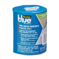 ScotchBlue Pre-taped Painter's Plastic,