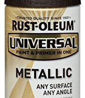 Rust-Oleum 249131 11 oz Universal All Surface Spray Paint, Oil Rubbed Bronze Metallic
