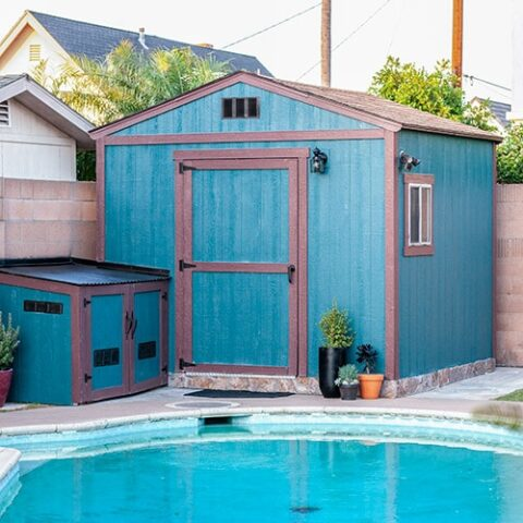 How To Paint A Shed The Right Way in TWO days