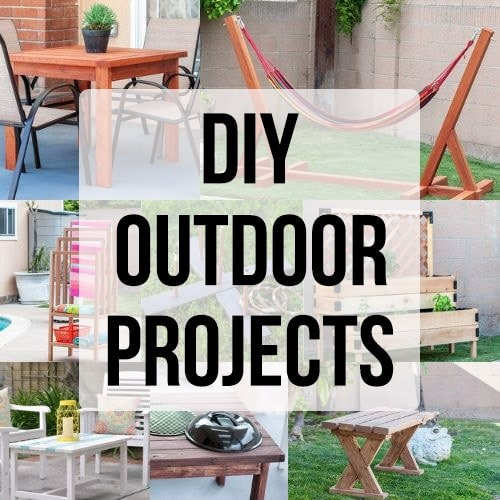 25 Easy DIY Outdoor Projects For Your Weekend