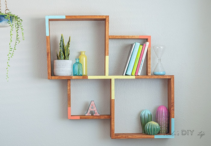 Easy DIY Wall shelf for beginners