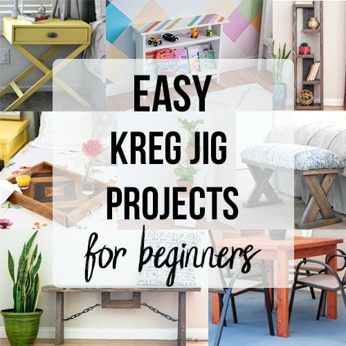 37 Kreg Jig Project Ideas for Beginners