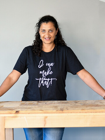 If you are looking for the perfect t-shirt or gift for a DIYer or woodworker, I have a few perfect designs for you! Introducing DIY Designs by Anika - the shop where you will find apparel, accessories and project plans for your DIY life.