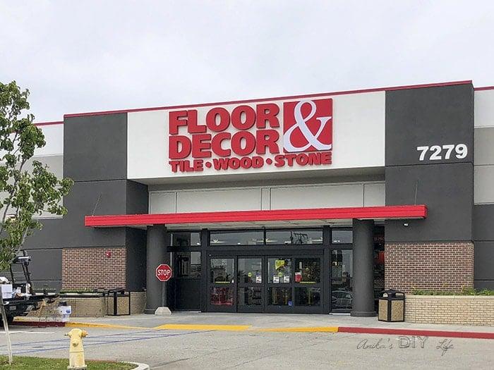 New Floor & Decor Store exterior