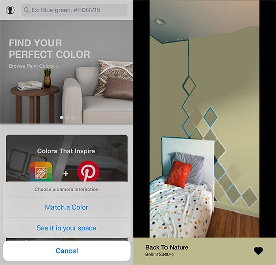 how to use project color app