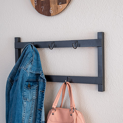 Learn how to make a simple DIY metal coat rack using aluminum brazing. This is a great beginner-friendly tutorial and project to start working with metal.