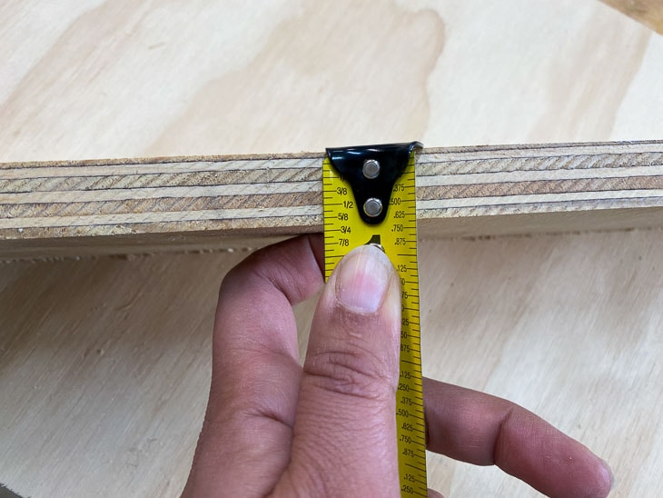 How to use pocket holes with plywood