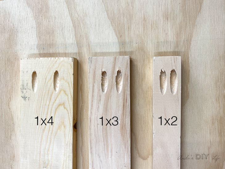 Pocket hole spacing in common boards