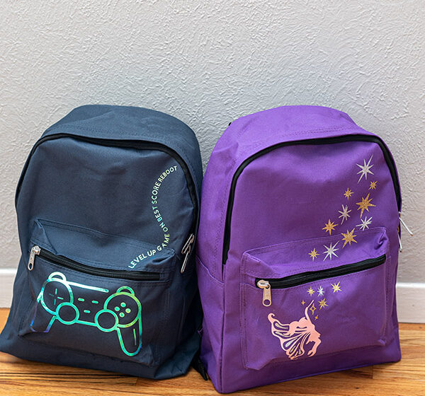 DIY Custom Backpacks For A Cause