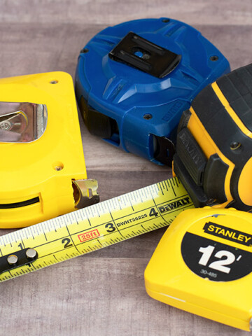 Learn how to read a tape measure accurately and discover all the hidden clever features like the movable tab, black diamond, and more!