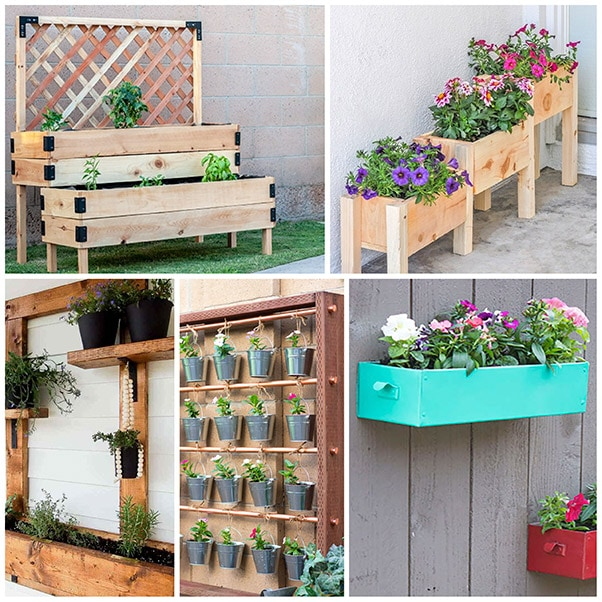 21 DIY Garden Ideas for Small Spaces