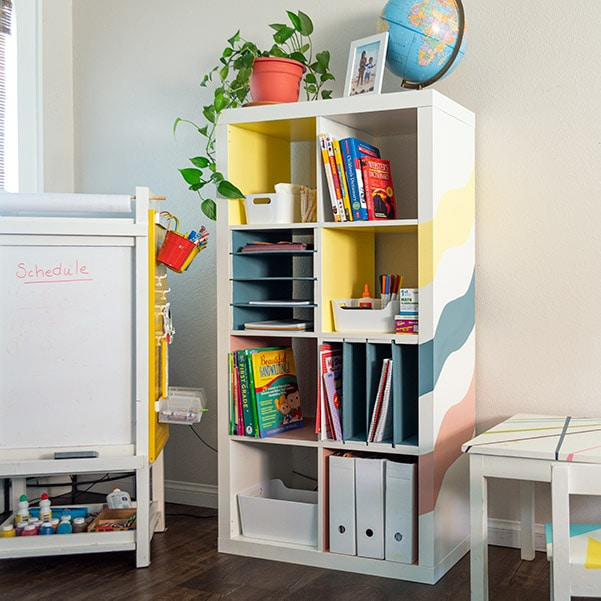 Easy Ikea Kallax Shelf Hack – DIY Organizer