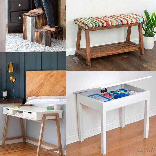 Take a look at the top posts of 2020! These are easy beginner-friendly woodworking and home improvement projects including lots of resources to inspire you!
