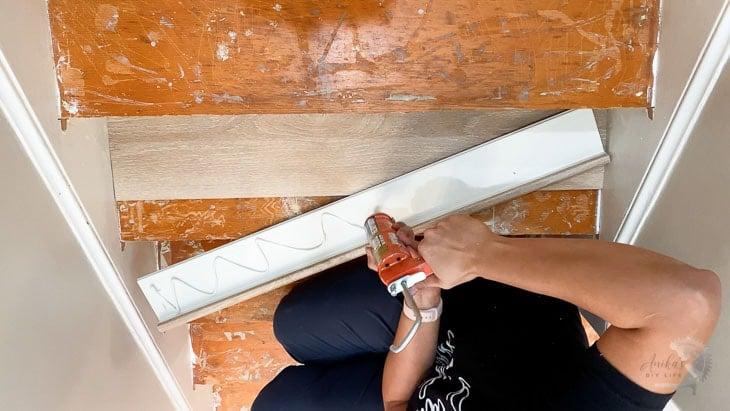 installing stair nose for vinyl plank flooring