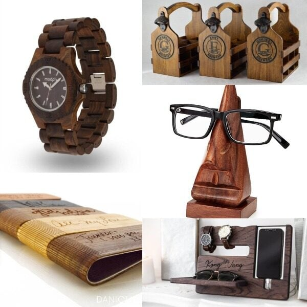 15 Unique Wooden Gifts for Him