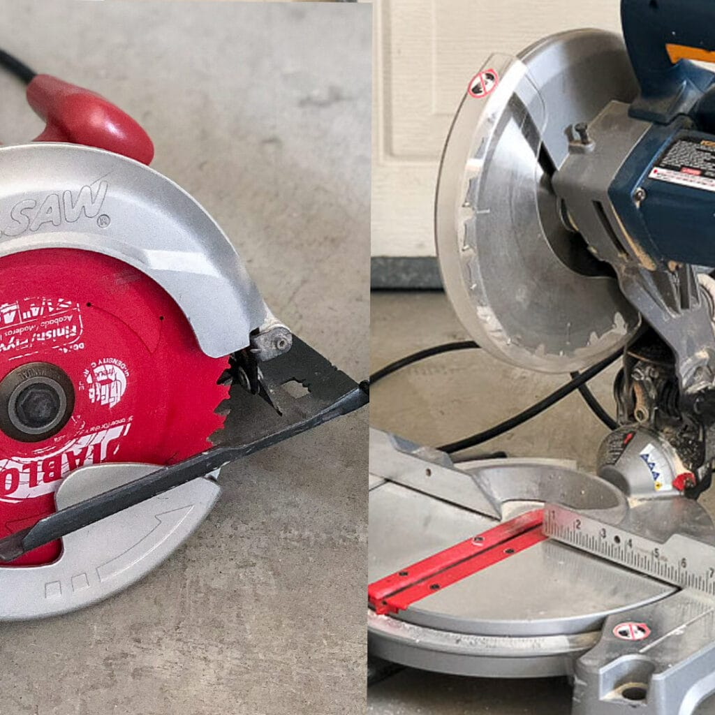 Miter saw vs. Circular saw : Both have their advantages and disadvantages. See which one is right for you as a beginner with this guide.