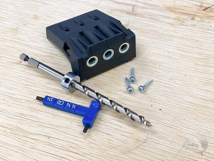 Micro drill guide attachment for the Kreg jig 720