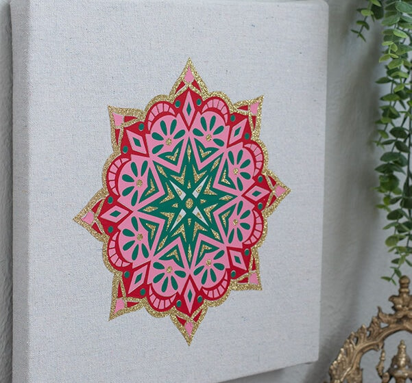 3 Quick Cricut Projects for Indian Inspired Living Rooms